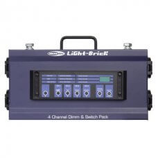 Showtec Lightbrick 4Ch Dimmingpack DMX