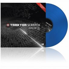 Native Instruments Traktor Scratch Control Vinyl Blue MKII