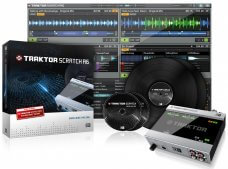 Native Instruments Traktor Scratch A6, MKII DJ software pakket