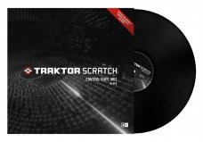 Native Instruments Traktor Scratch Control Vinyl Black MKII