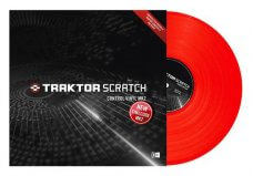 Native Instruments Traktor Scratch Control Vinyl Red MKII