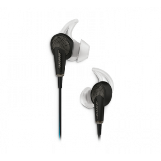 Bose Quiet Comfort  QC20 headphone made for i-Phone Black