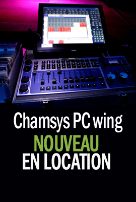 Chamsys pc wing en location
