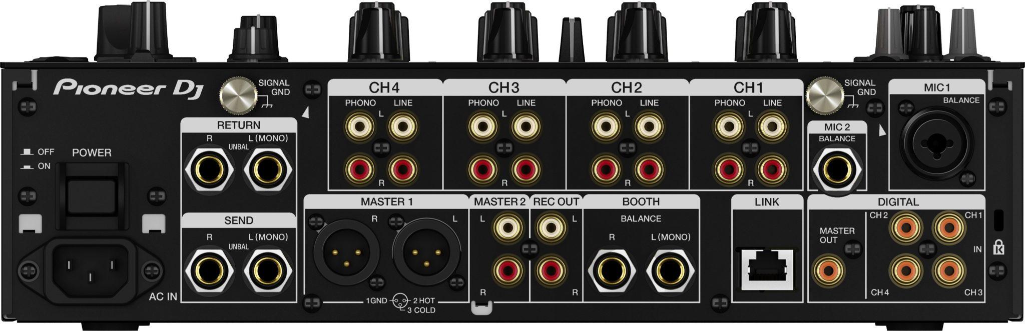 DJM-900NXS2 inputs
