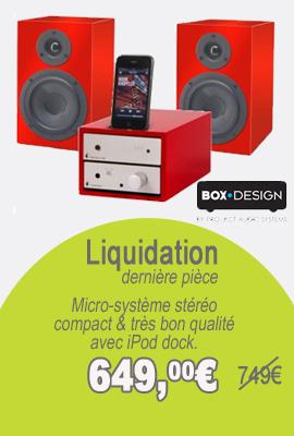 liquidation Boxdesign ipod goes digital set