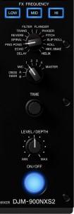 DJM-900NXS2 FX section