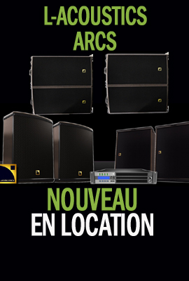 L-acoustics en location