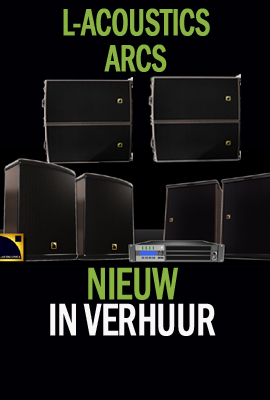 L-acoustics in verhuur