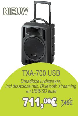 Monacor TXA-700USB